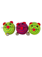 Pounce & Play 3 Striped Mice