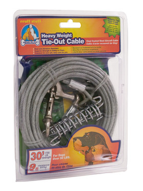 Penn Plax Heavy Weight Tie-Out Cable
