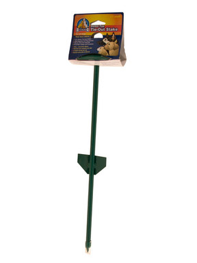 Penn Plax Straight Dome Top Tie-Out Stake