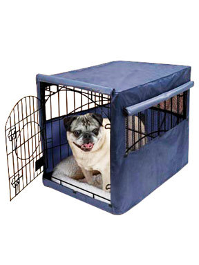 Penn Plax Dog Crate Cover