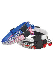 Pet Edge Rhinestone Cat Collar