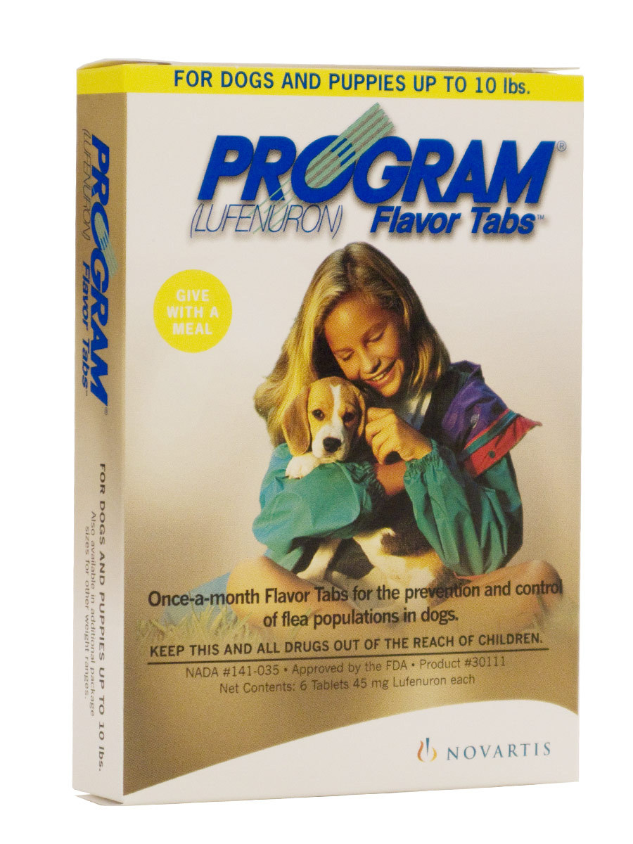 Program Flavor Tabs At Pet Shed