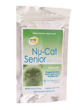 Vetri-Science Nu-Cat Senior Soft Chew